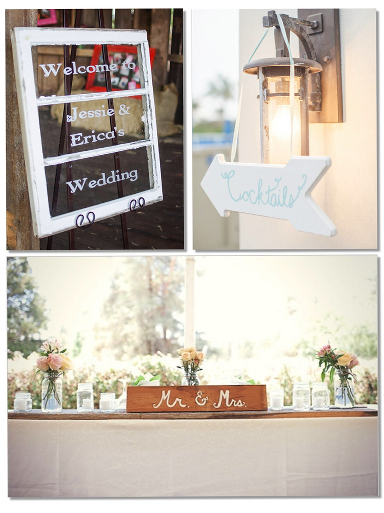 Wedding Signs + letters -Monicositas
