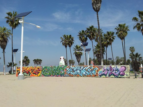 Venice Beach Graffiti Walls