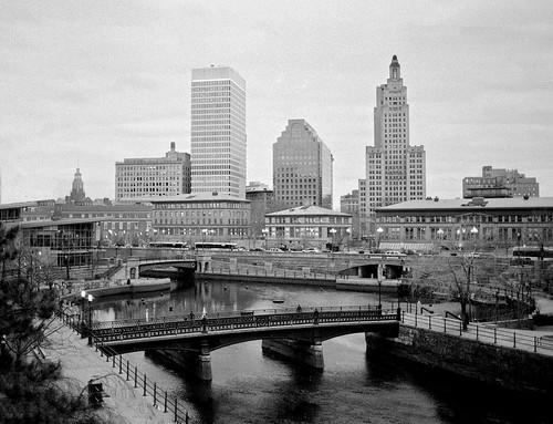 Downtown Providence by Armadillo Commander via I {heart} Rhody