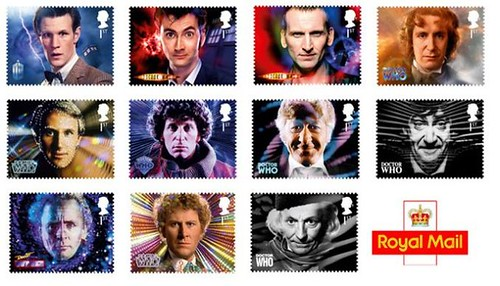 Doctor Who stamps