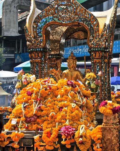 the shrine of Brahma