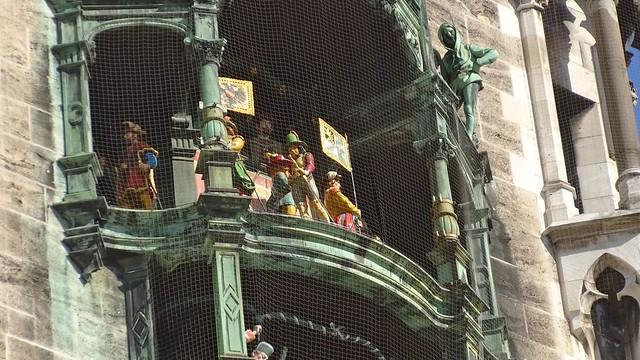 Glockenspiel, Rathaus München
