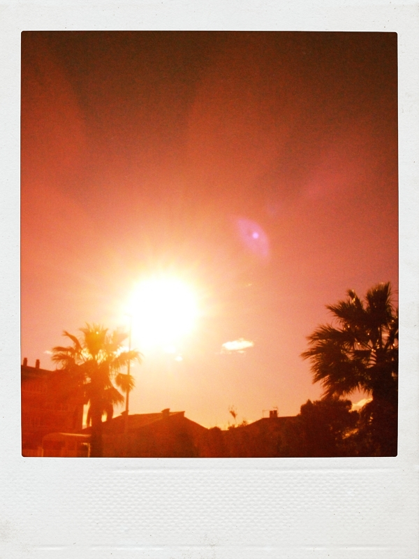 puesta de sol grao de castellón