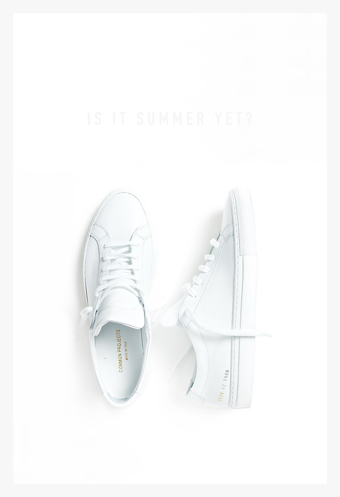 Common Projects White-Border