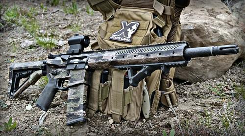 A-Tacs iX AR-15 Rifle Skin