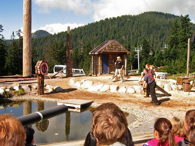 The Lumberjacks - throwing, Canon DIGITAL IXUS 750