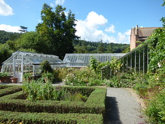 Hampton Court Castle Gardens & Parkland - the garden - greenhouses