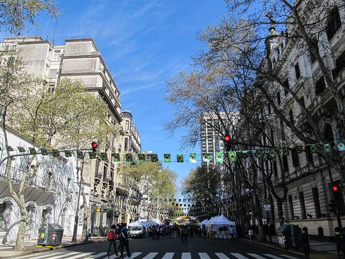 Buenos Aires: festival brésilien dans le centre-ville