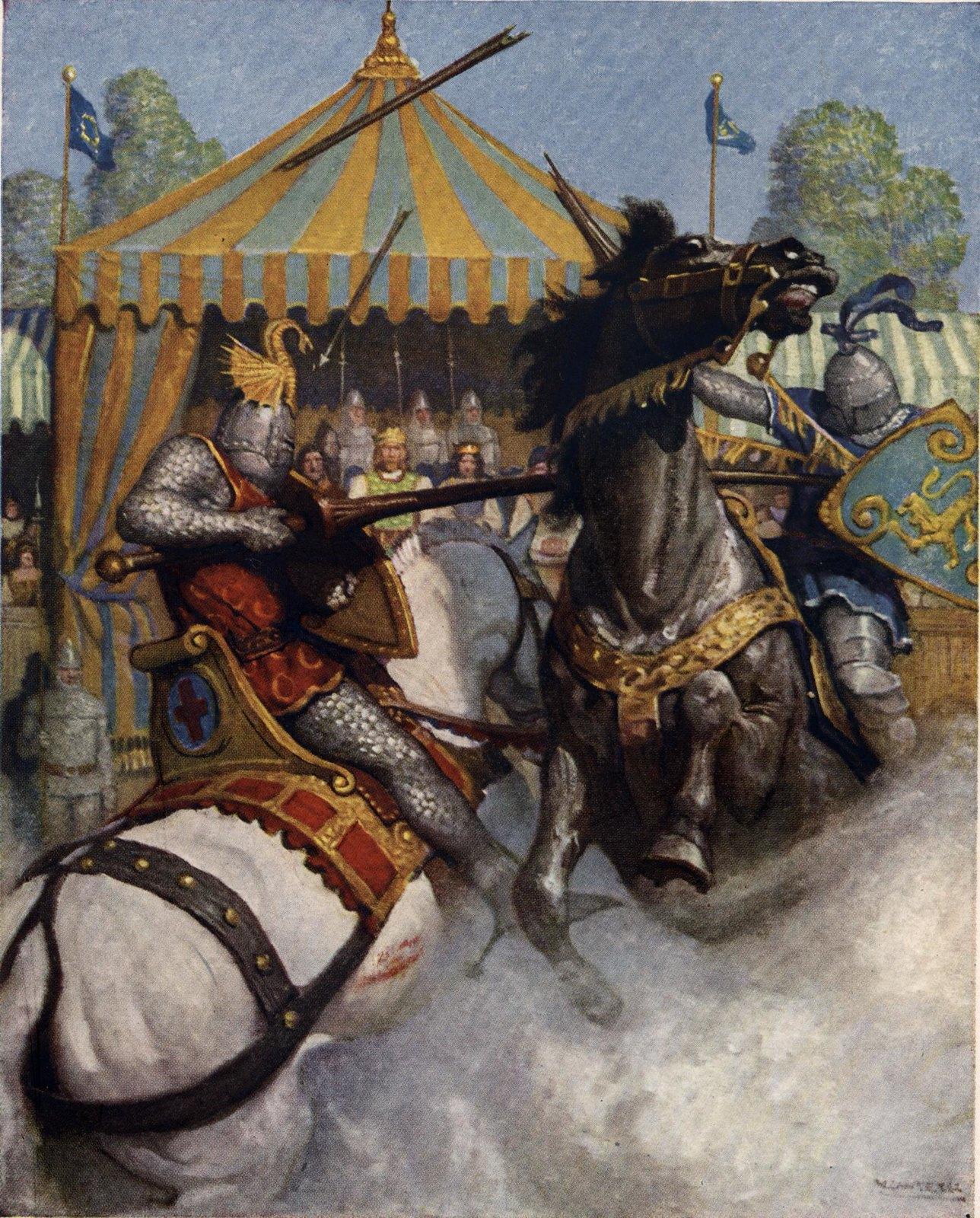 The Boy's King Arthur by N.C. Wyeth, 1922