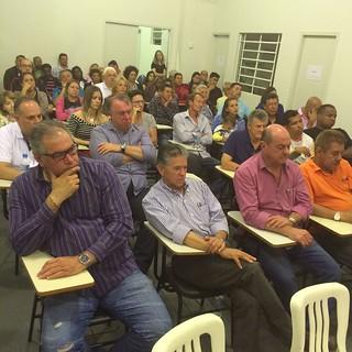 Encontro de candidatos do Solidariedade em Piracicaba