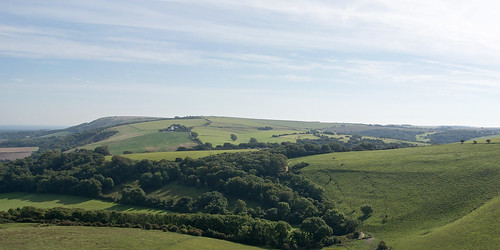 View from Wolstonbury Hill