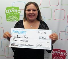 Lacey Page - $1,000 $200,000 Jewel Jackpot