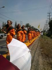 Dhammachai Dhutanga bhikkhus