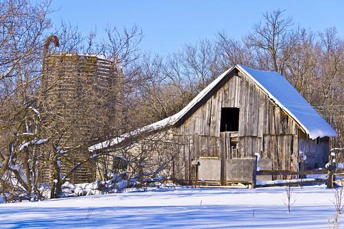 winter snow building farm silo abandonned 365dayproject nikond3100 abandonnedbuidling abandonnedsilo