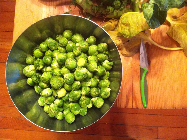 Brussels sprouts at Christmas - Ready to eat!
