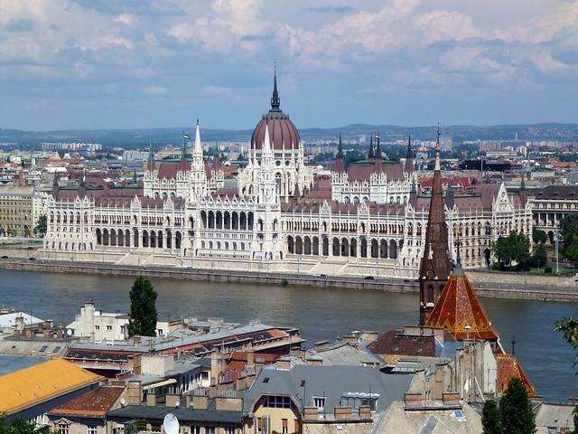 Budapest - jour 3 - 20 - Magyar Országgyűlés (Parlement)