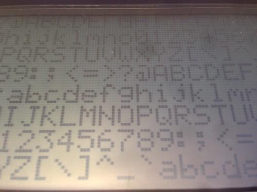 5x7 font