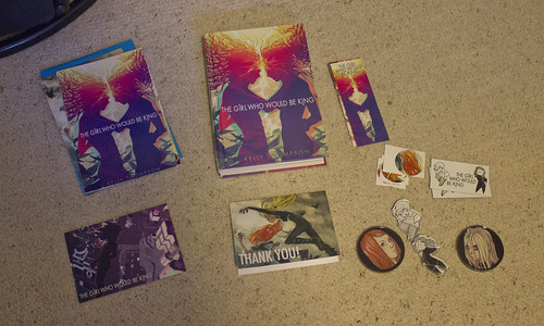 POTD: Girl Who Would Be Kind Kickstarter rewards