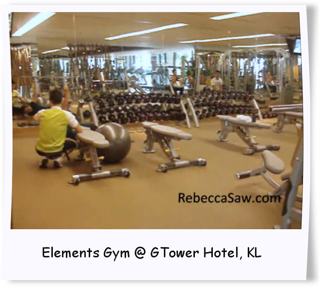 Elements Gym @ GTower Hotel, KL