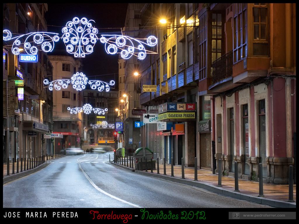Navidades Torrelavega 2012 - Jose Maria Pereda