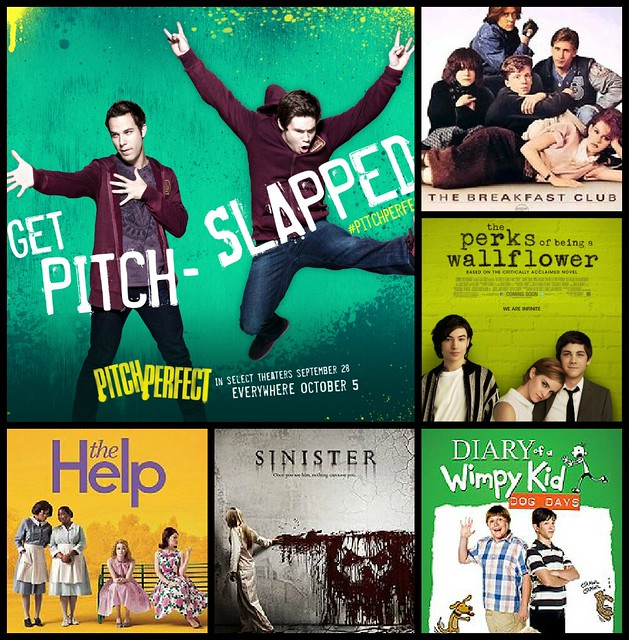Eyes feast. Watched these in January 2013. Pitch Perfect's the best, so far.