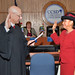Oath of Office administered to Trustee Young