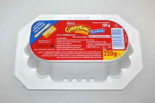 02 - Meica Curry King Geflügel - Packung hinten