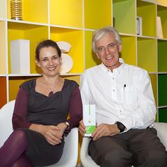 Jane and Simon at MOO for the MOO Award 2012