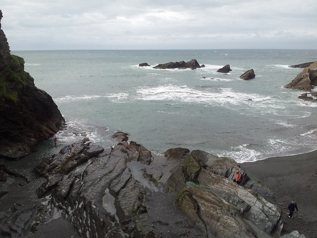 Tunnels Beach Ilfracombe For Wheelchairs And Assistance Dogs