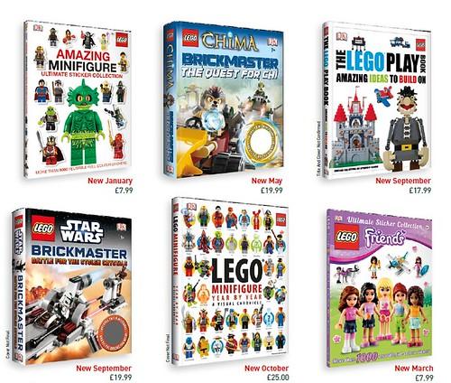 LEGO 2013 DK Books