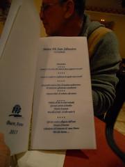 Il menù del cenone di San Silvestro