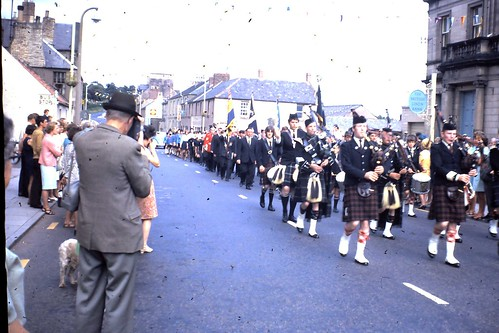 Civic Week 1966 by coldstreampipeband