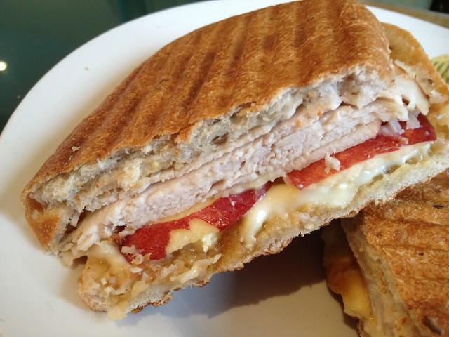 Turkey Panini Sandwich