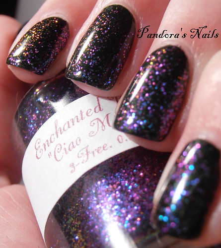 Kiko 392 and Enchanted Polish Ciao Milano 3