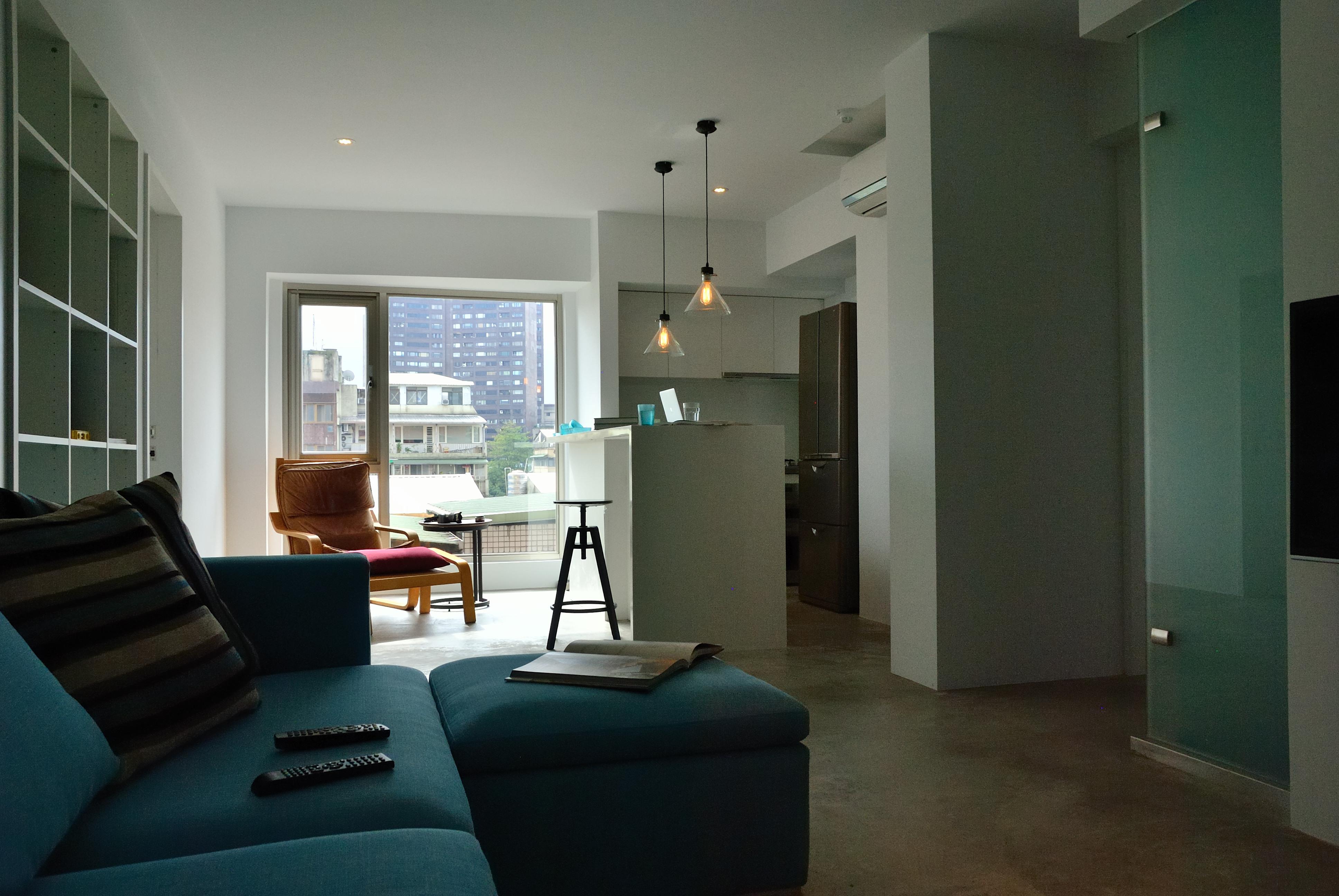 住宅設計-清新居家風格客廳