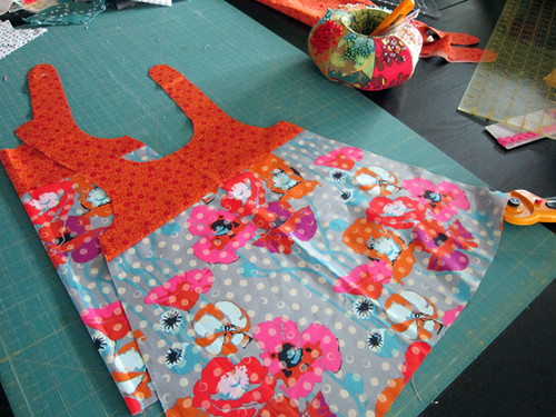piecing, cutting