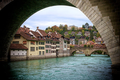 Bern under the bridge