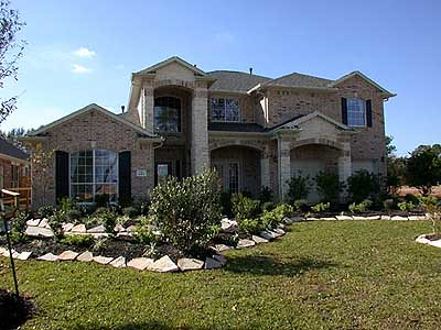 Image gallery houston tx suburbs for Tract home builders