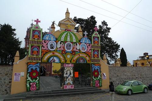 Iglesia Santa Maria Tonantzintla - Cholula, Mexico