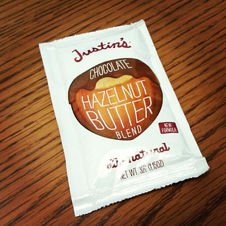 Have y'all tried Justin's Butter Blends? I had one in my Starbuck's protein pack and I'm addicted!! #butteryall