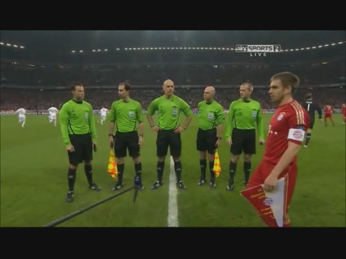 Howard Webb Coin Toss