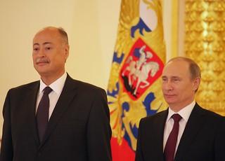 Embajador Rubén Beltrán y Presidente Vladimir Putin II