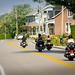 Balade à moto dans les charmantes municipalités de la région.