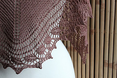 iMake's birthday shawl