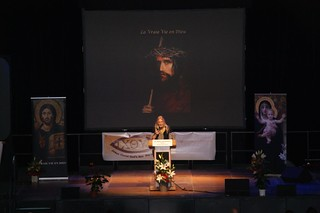Vassula Speaks in Paris, France, 2012