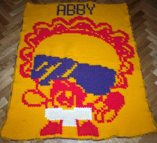 Lady Googoo Afghan for Abby