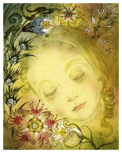 006-La joven- Nature Spirits-Sulamith Wülfing -Via www.dana-mad.ru