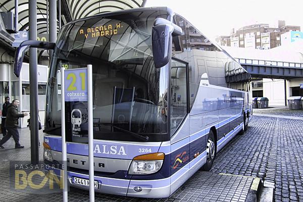 estação de ônibus Barcelona Nord