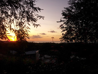 Sunset over Buccoo