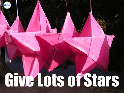 Flickr Lessons: Be generous and give lots of stars #socialweb